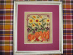 AUTUMN JEWELS AND NOTECARD (CS) Country Garden Stitchery