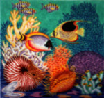 Anne Cram S-47 Aquarium Pillow 14 Mesh