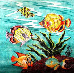 Anne Cram S-45 Aquarium Pillow 14 Mesh