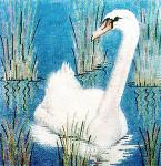 Anne Cram B-4-2 Swan - 2 14 Mesh
