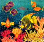 Anne Cram S-46 Aquarium Pillow 14 Mesh