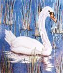 Anne Cram B-4-1 Swan - 1 14 Mesh