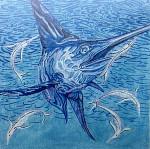 Anne Cram B-48 Blue Marlin 14 Mesh