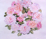 Anne Cram F-49 Solomon's Roses 14 Mesh