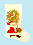 Anne Cram C-36 Santa With Tree 14 Mesh