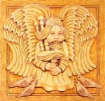 Anne Cram H-7 Pipng Angel 14 Mesh
