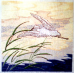 Anne Cram OR-857 Chinese Egret 14 Mesh