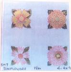 Anne Cram SM-7 Sunflowers 18 Mesh
