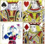 Anne Cram SM-19 Playing Cards 18 Mesh
