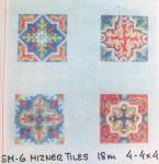 Anne Cram SM-6 Mizner Tiles 18 Mesh