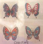 Anne Cram SM-11 Butterflies Coasters 18 Mesh