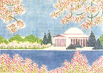 Anne Cram SM-51 Jefferson Memorial 14 Mesh