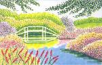 Anne Cram SM-37 Garden Bridge 14 Mesh