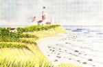Anne Cram SM-72 Lighthouse Oceanside 14 Mesh