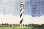 Anne Cram SM-108 Hattaras Lighthouse 14 Mesh