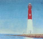 Anne Cram A-808 Barnegat Lighthouse, N.J. 14 Mesh