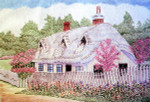 Anne Cram A-829 Thatched Cottage 18 Mesh