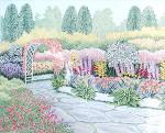 Anne Cram A-834 Secret Garden 18 Mesh