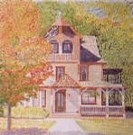 Anne Cram A-846 Pumpkin House 18 Mesh