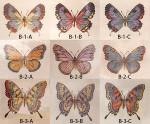Anne Cram SM-B-2-B Butterflies 18 Mesh