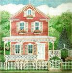 Anne Cram A-842 Farmhouse 14 Mesh