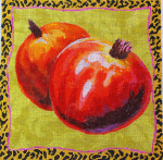 FF263 Pomegranates 16x16 10 Mesh Colors of Praise