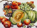 FF111 Melons/Peaches 18x14 13M Colors of Praise