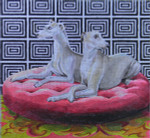 AN106 Colors of Praise Whippets 15 x 12  18M