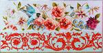FF266 Parakeet/Floral 23x12 18M Colors of Praise
