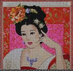 PE105 Oriental Lady 13x13  13M Colors of Praise