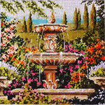 MC227 Water Fountain 10 1/4x10 1/4  13M Colors of Praise