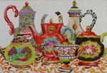 MC301 Teapots 13x19  13M Colors of Praise