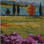 MC246 Green Landscape 8x8  10M  Colors of Praise