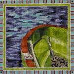MC225 Green Boat 7x7  13M Colors of Praise