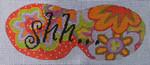 MA003 Shh-Eye Mask 9 3/4x3 3/4 13 Mesh Colors of Praise