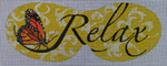 MA005 Relax 9 3/4 x 3 3/4  18 Mesh Colors of Praise