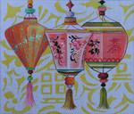 MC309 Oriental Paper Lanterns 14x12 18 Mesh Colors of Praise