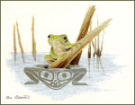 13-2144 Frog by Stitching Studio, The