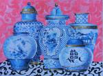 MC315 Blue Vases 16x12 13 Mesh Colors of Praise