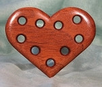 Bloom Woodworks Thread Keeper Small Heart