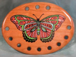 Bloom Woodworks Thread Keepe Stamped Monarch Butterfly