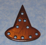 Bloom Woodworks Thread Keeper Witch Hat