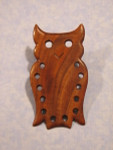 Bloom Woodworks Thread Keeper Owl