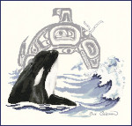 13-1298 Killer Whale by Stitching Studio, The