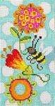 EY115 Whimsy Bee 3.5x7  13M Eyeglass Case Colors of Praise