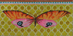 EY121 Butterfly pink/orange-Eyeglass Case 3.5x7 18M Colors of Praise