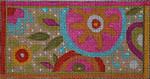 EY107 Floral Folkart-Eyeglass Case 3.5x7 13M Colors of Praise