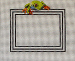 PF153 Frog-Picture Frame 10x12 op 5x7 18 Mesh Colors of Praise