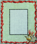 PF154 Colors of Praise Seashell 10x12  18M Frame opening 5x7