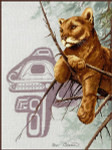 13-2143 Cougar by Stitching Studio, The